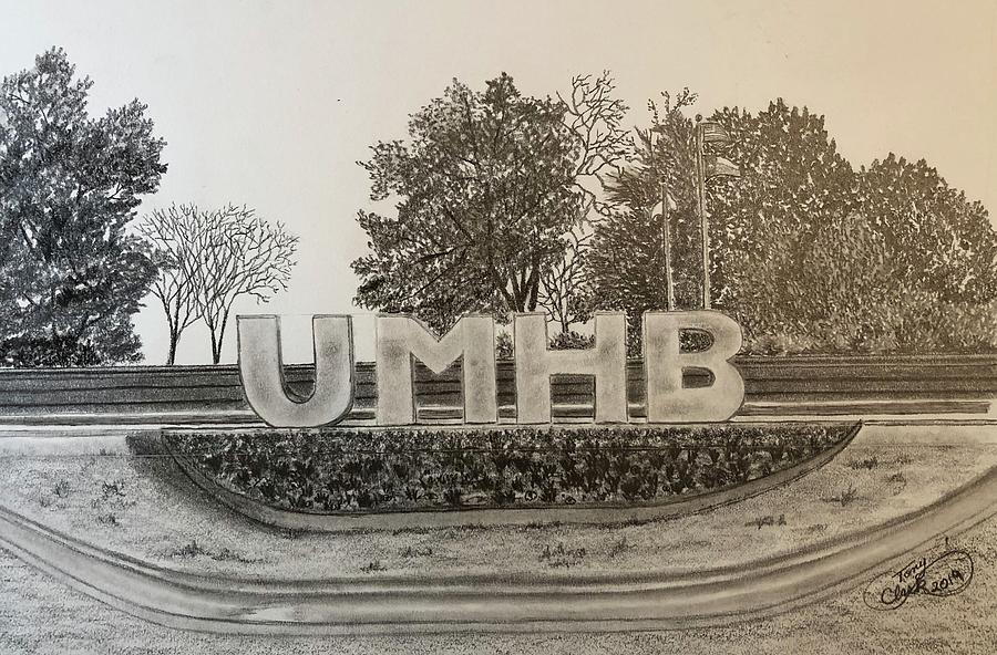 UMAB Entrance  by Tony Clark