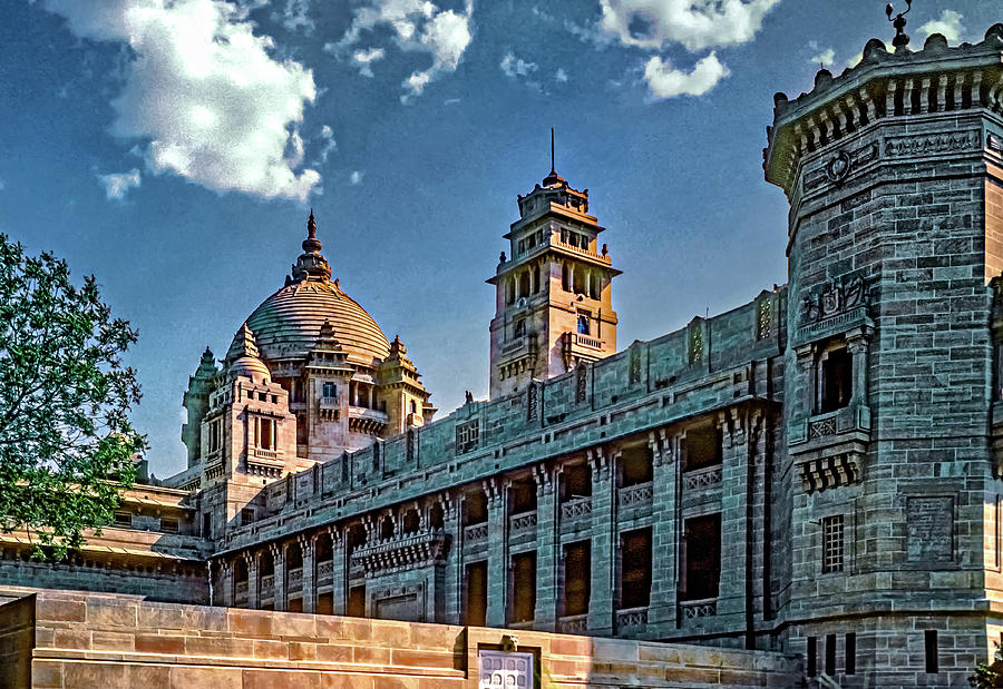 Umaid Bhawan Palace - The West Wing Photograph