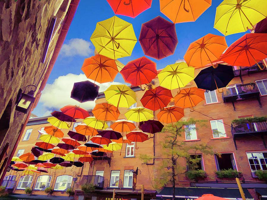 umbrella 001 by David Brookwell