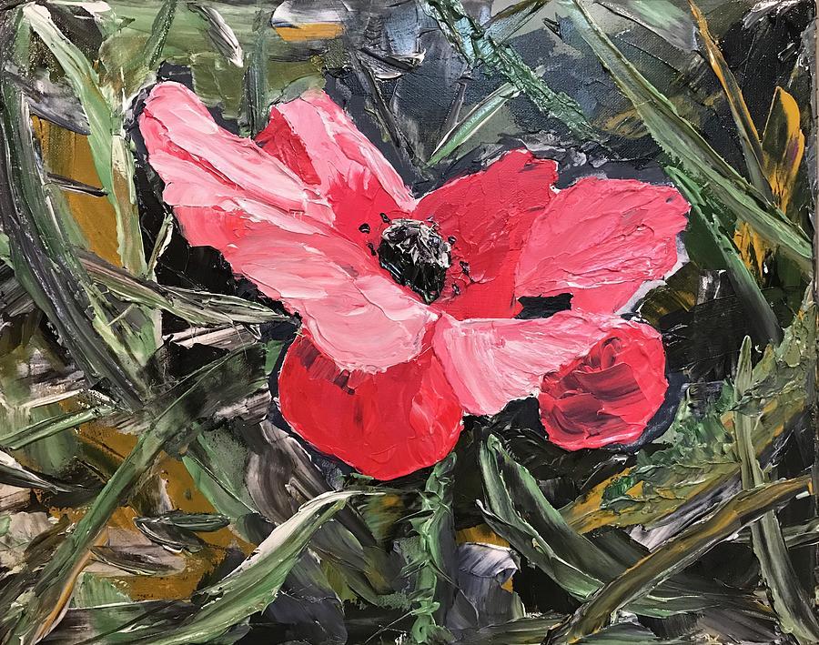 Umbrian Poppies 1 by Ovidiu Ervin Gruia