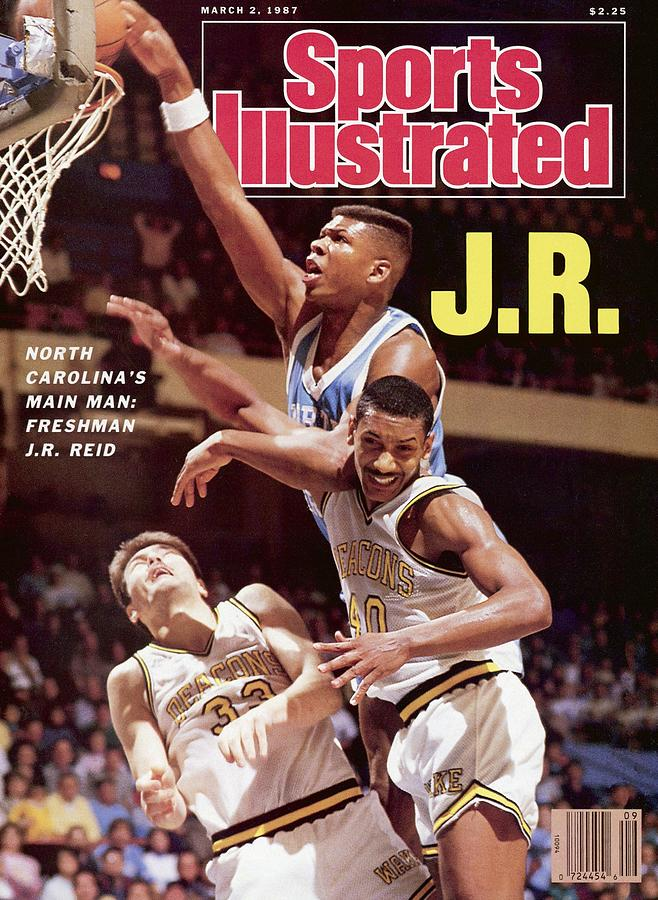 Unc J.r. Reid Sports Illustrated Cover Photograph by Sports Illustrated