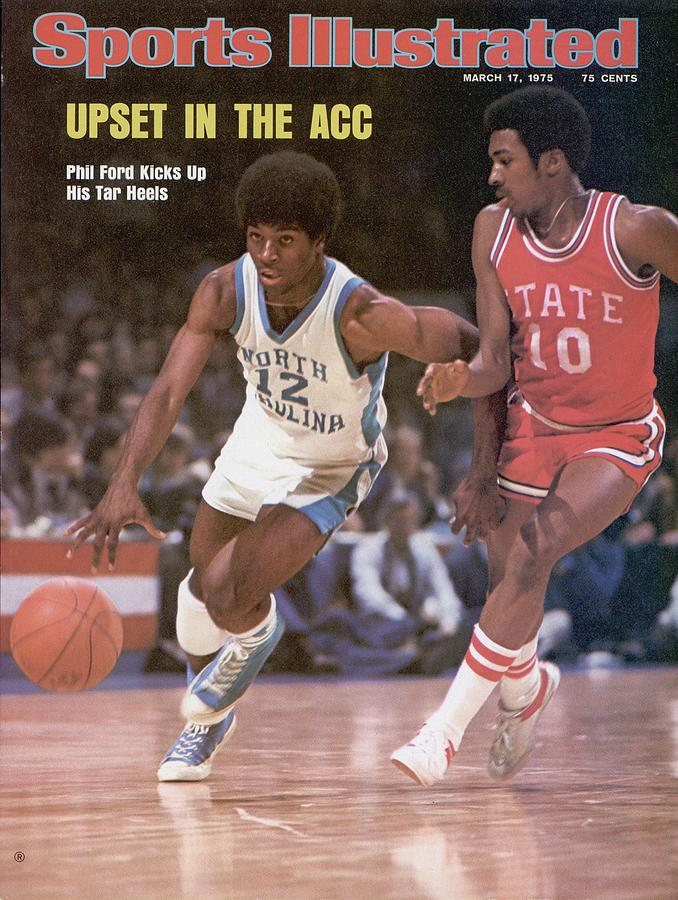 Unc Phil Ford, 1975 Acc Tournament Sports Illustrated Cover Photograph by Sports Illustrated