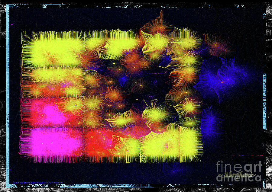 Abstract Mixed Media - Uncaged And Unafraid - Breaking The Gridlock Of Hate Number 3 by Aberjhani