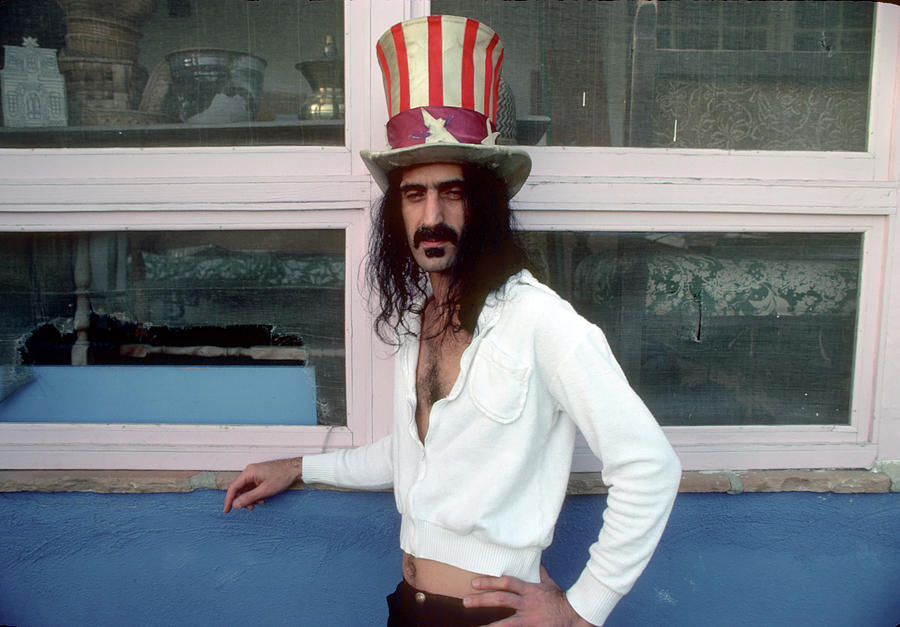 People Photograph - Uncle Zappa Wants You by Michael Ochs Archives