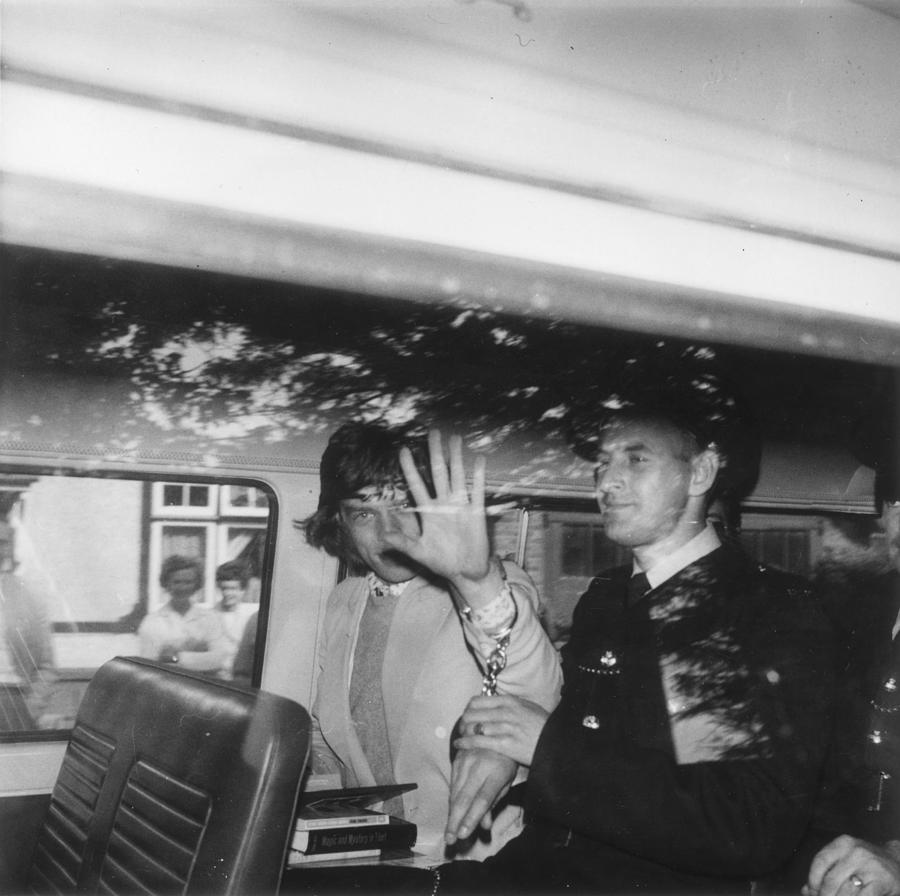 Under Arrest Photograph by Stanley Sherman