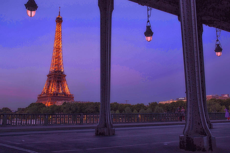 Under the Bir Hakeim Bridge by Matthew Pace