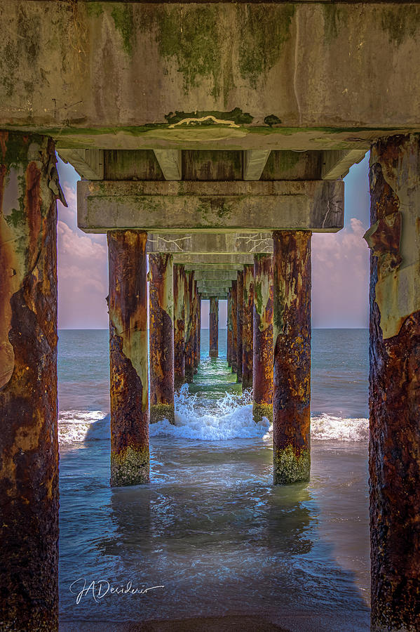 Under the Boardwalk by Joseph Desiderio