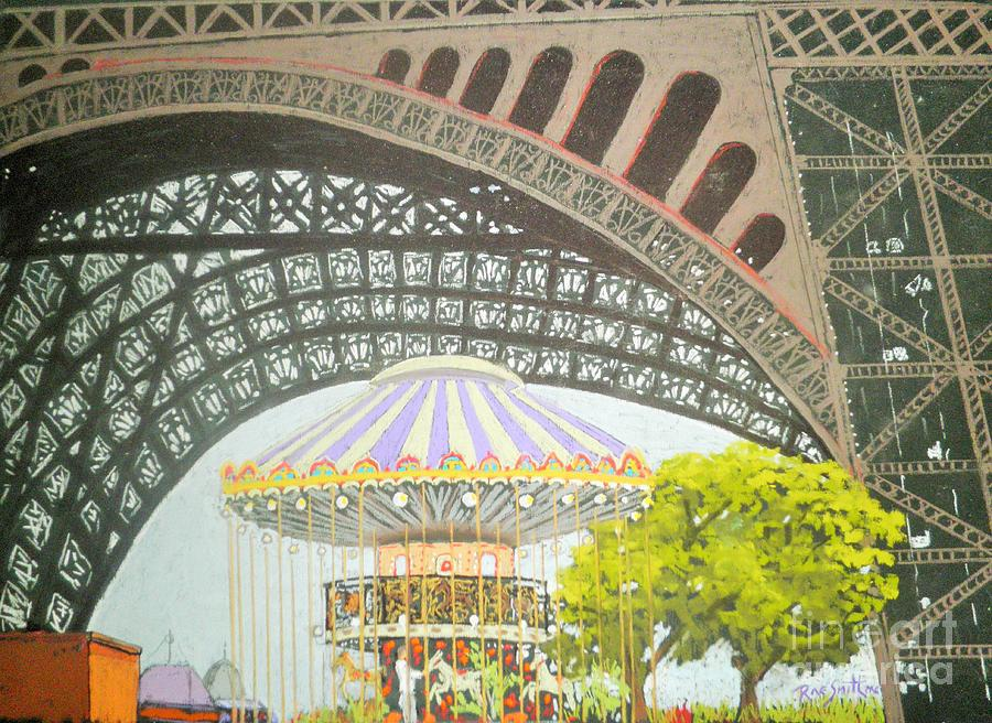 Under the Eiffel tower  by Rae  Smith PAC