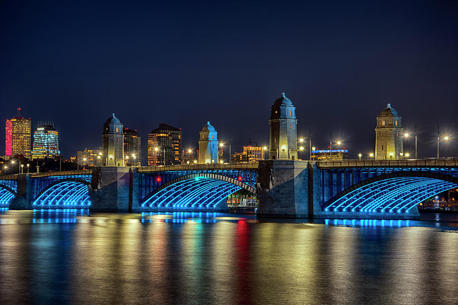 Under the Longfellow Bridge - Boston by Joann Vitali