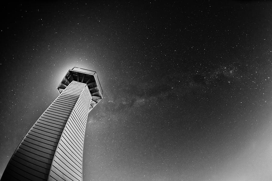 Under The Milky Way Photograph by Mel Brackstone