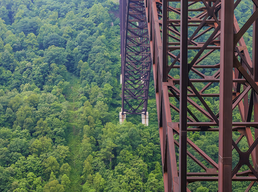 Under The New River Gorge Bridge by Dan Sproul