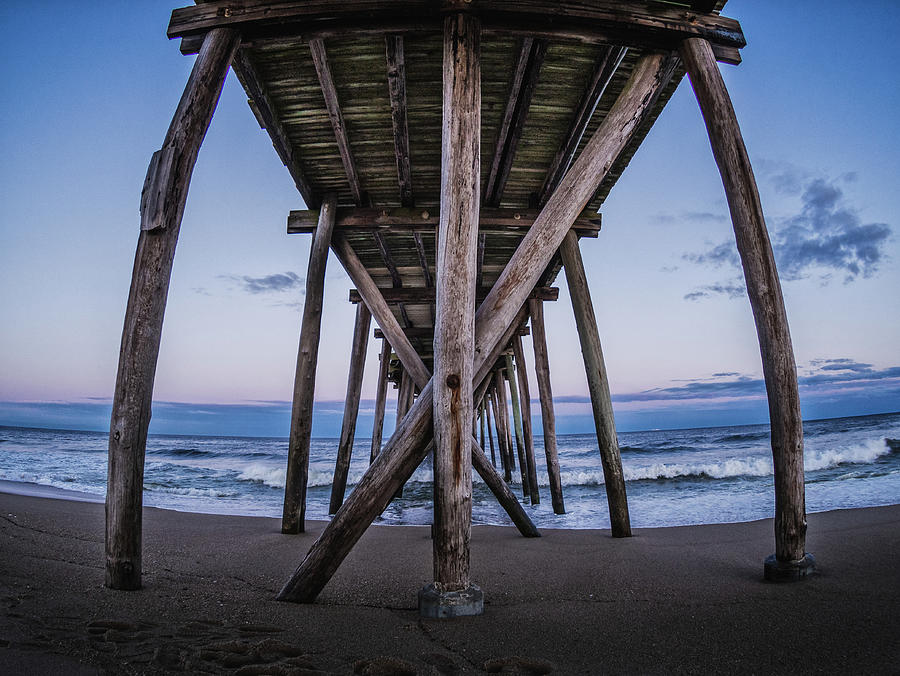 under the pier by Steve Stanger