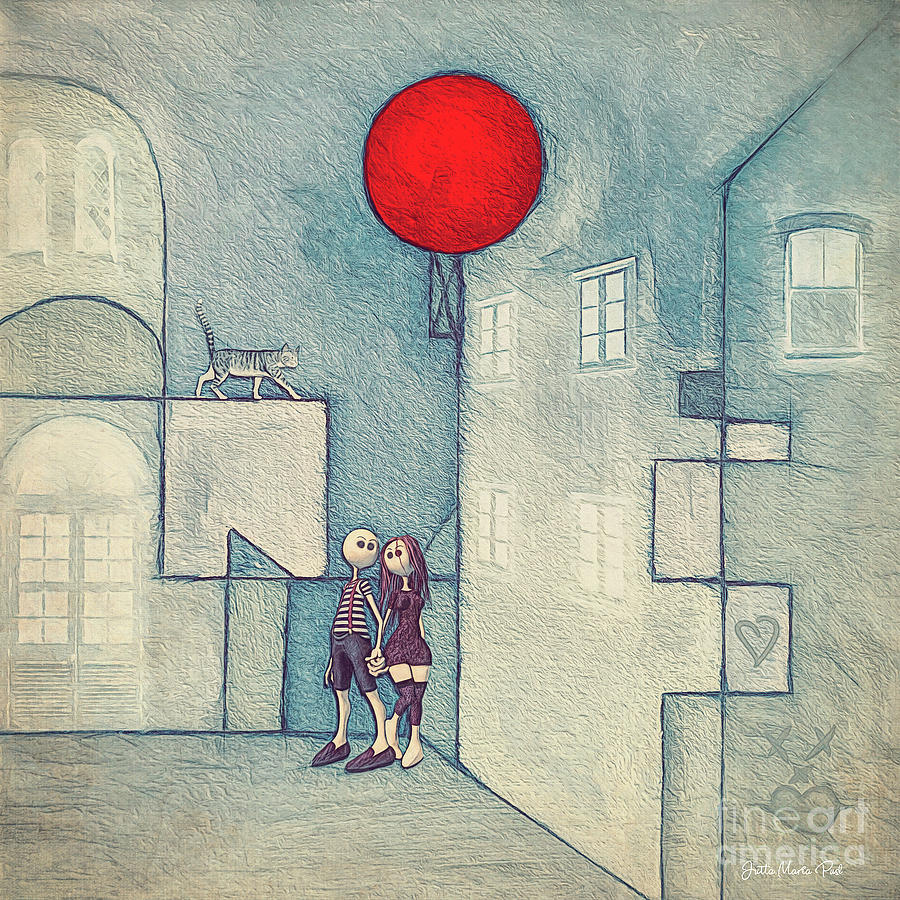 Under the Red Balloon by Jutta Maria Pusl