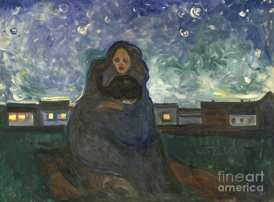 Under the Stars by Edvard Munch