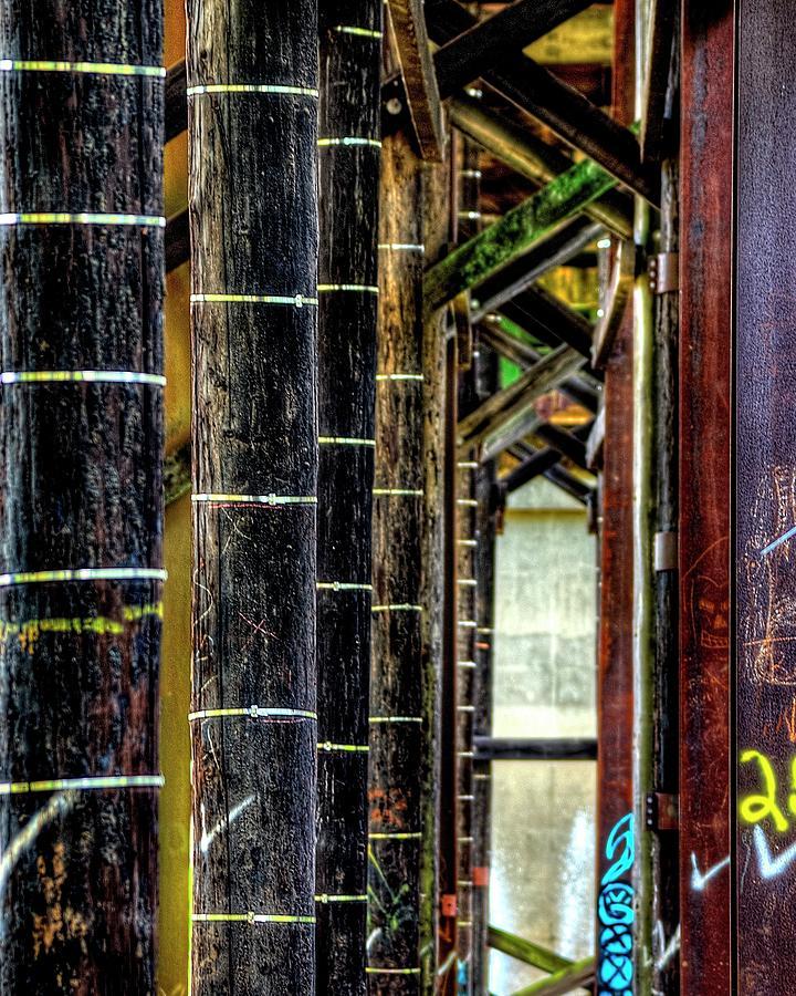 Under The Third Street Bridge by Jerry Sodorff