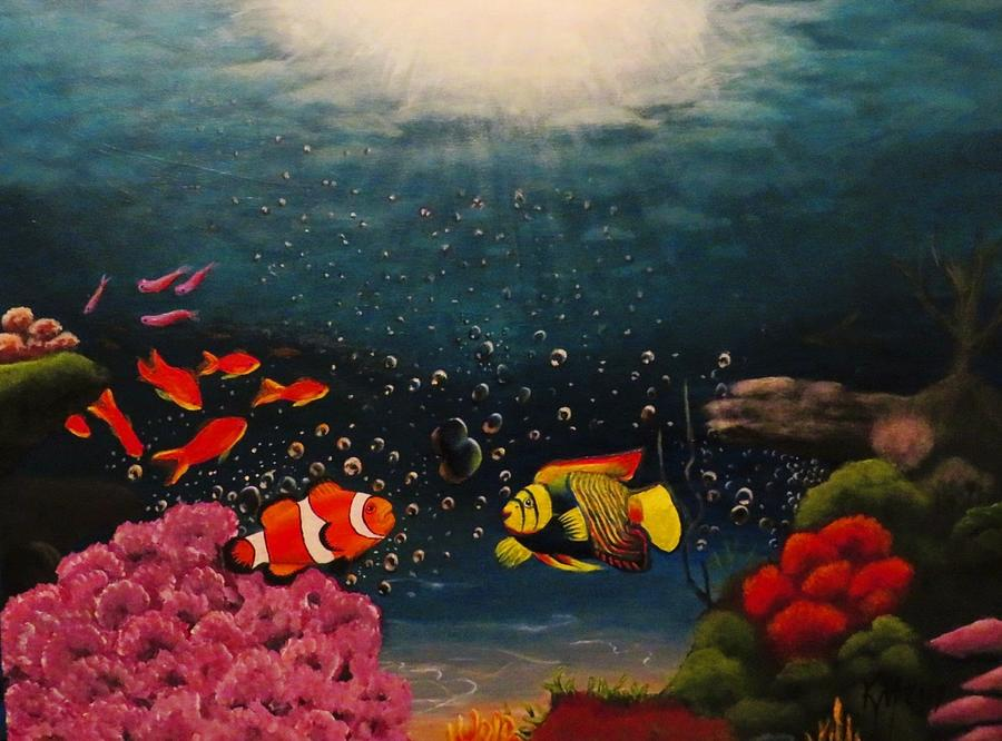 Under Water World Painting