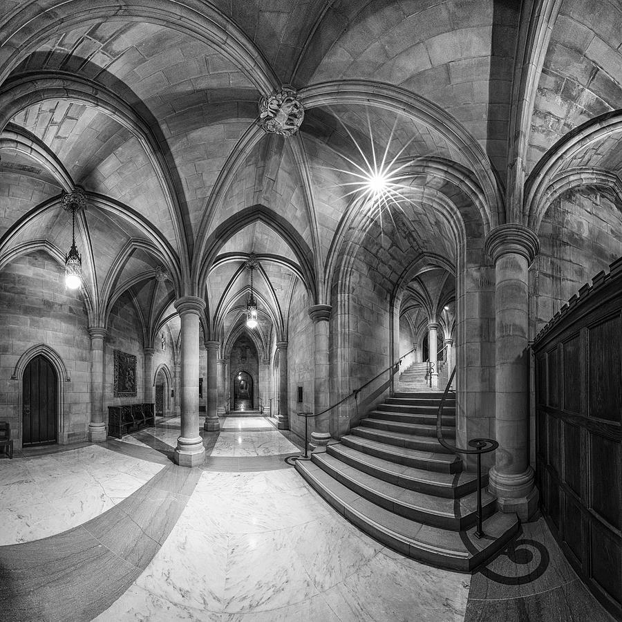 Gothic Photograph - Undercroft by Christopher Budny