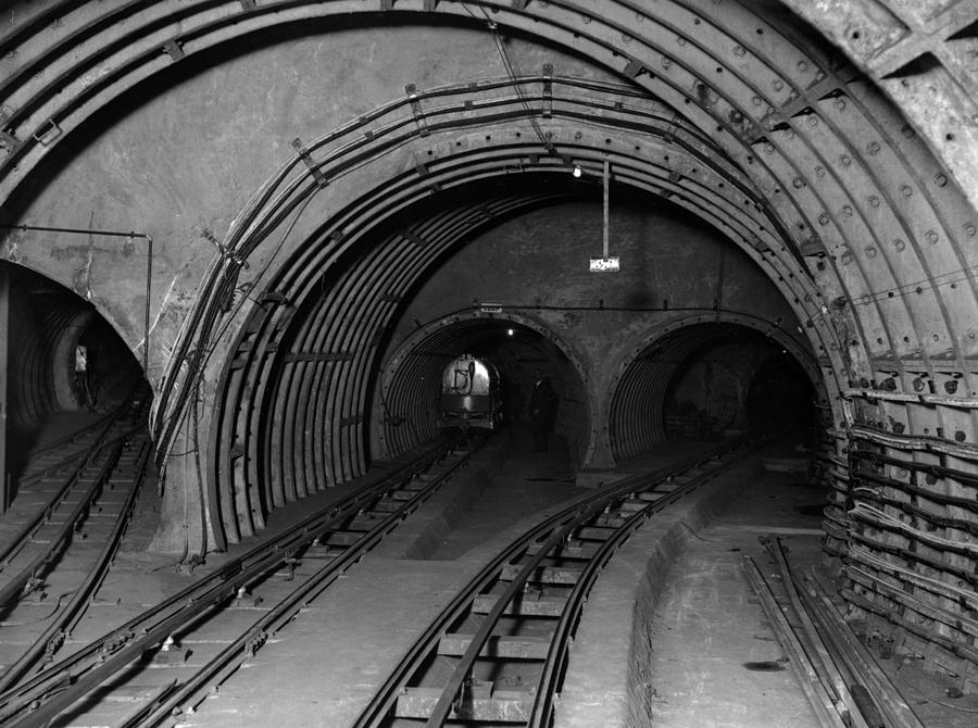 Underground Mail Photograph by E. Bacon