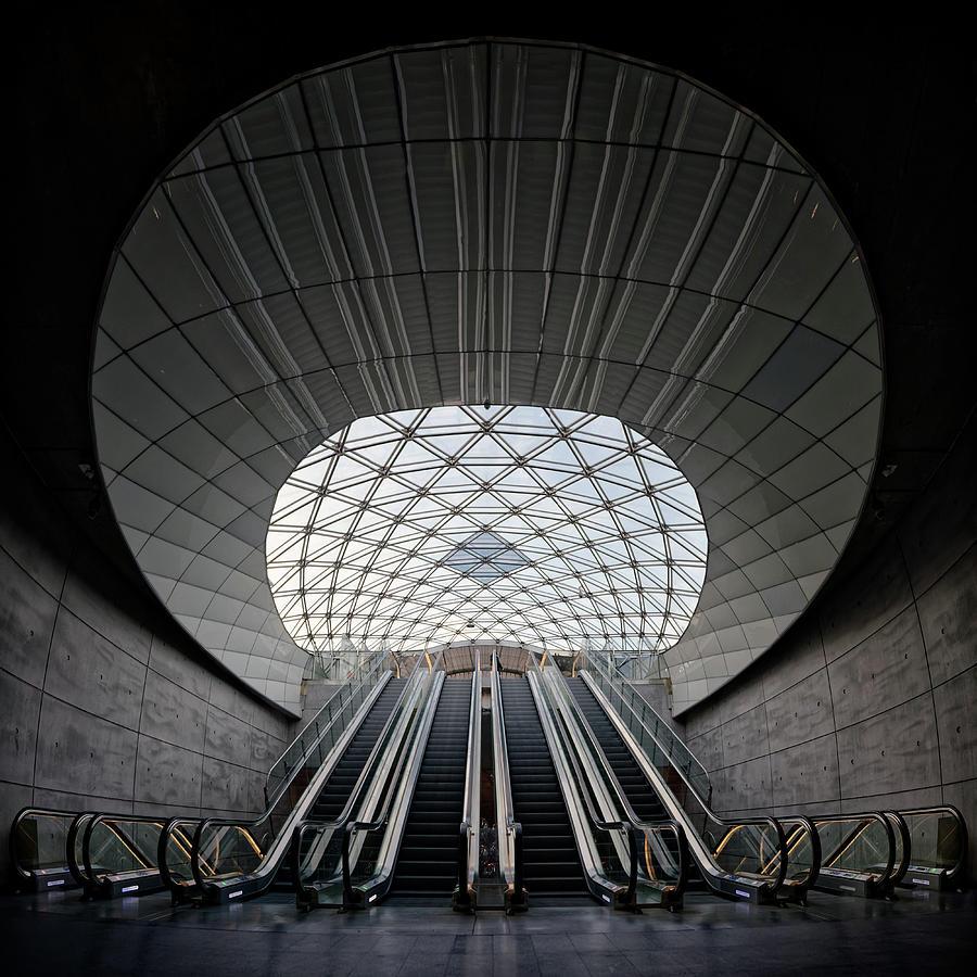 Architecture Photograph - Underground Priestess by Mark Finney