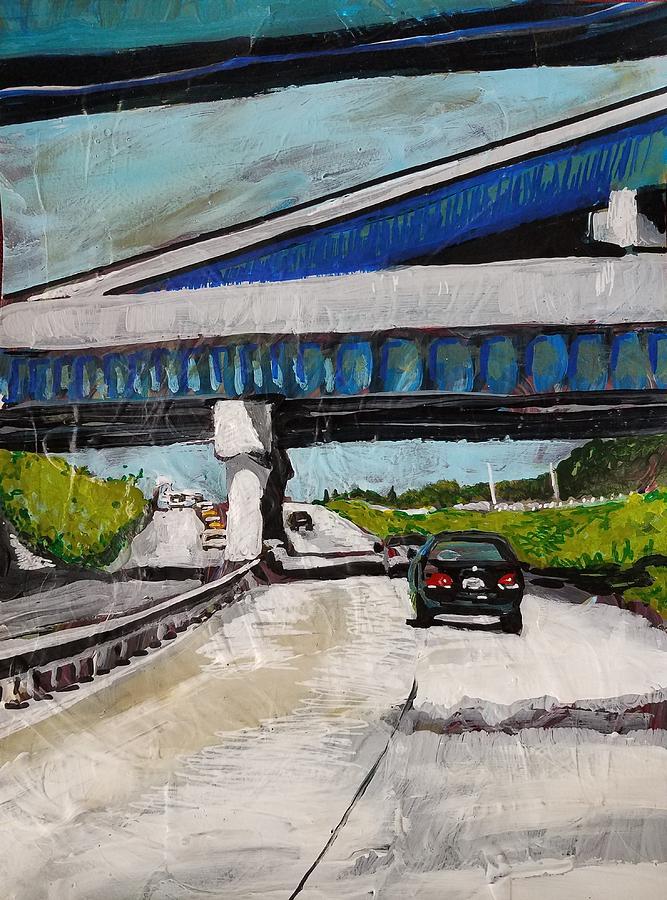 Underpass Z by Tilly Strauss