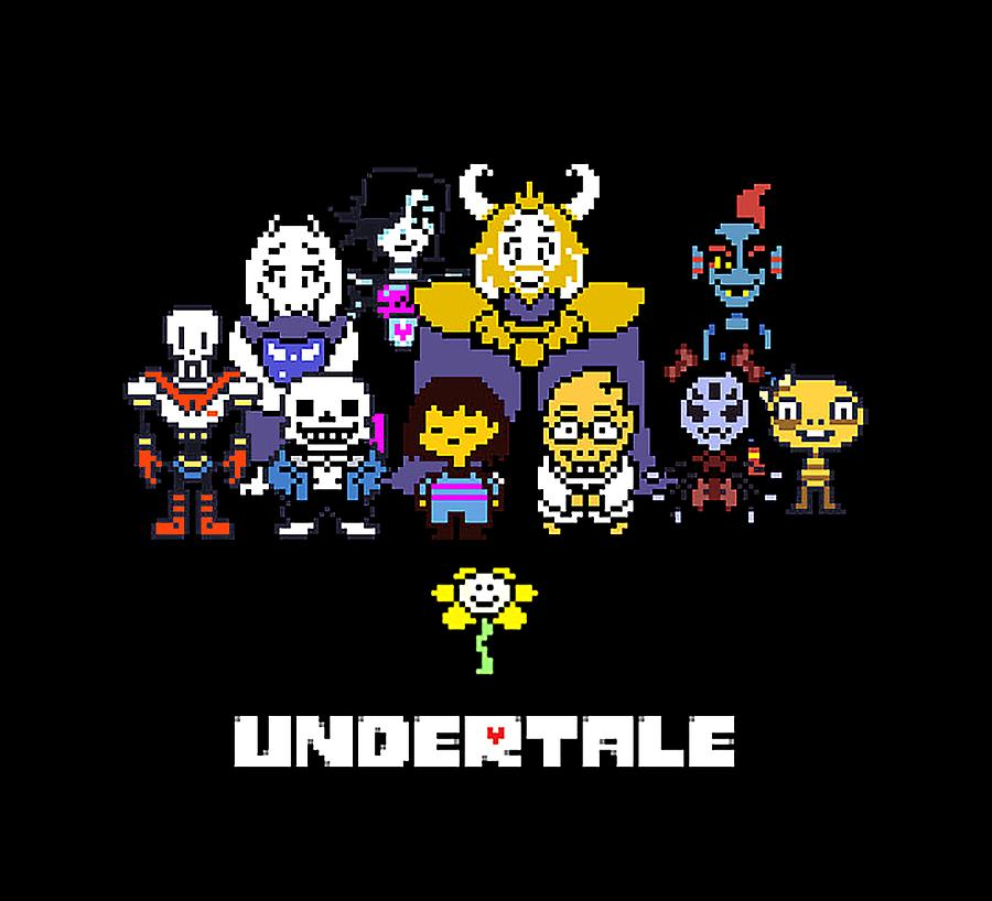 Undertale Digital Art by Ree Orn