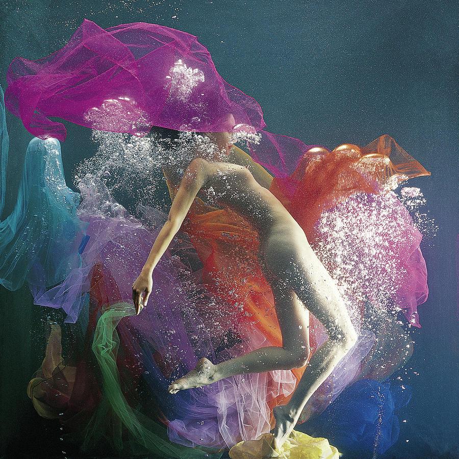 Underwater Dance Photograph by Patrizia Savarese