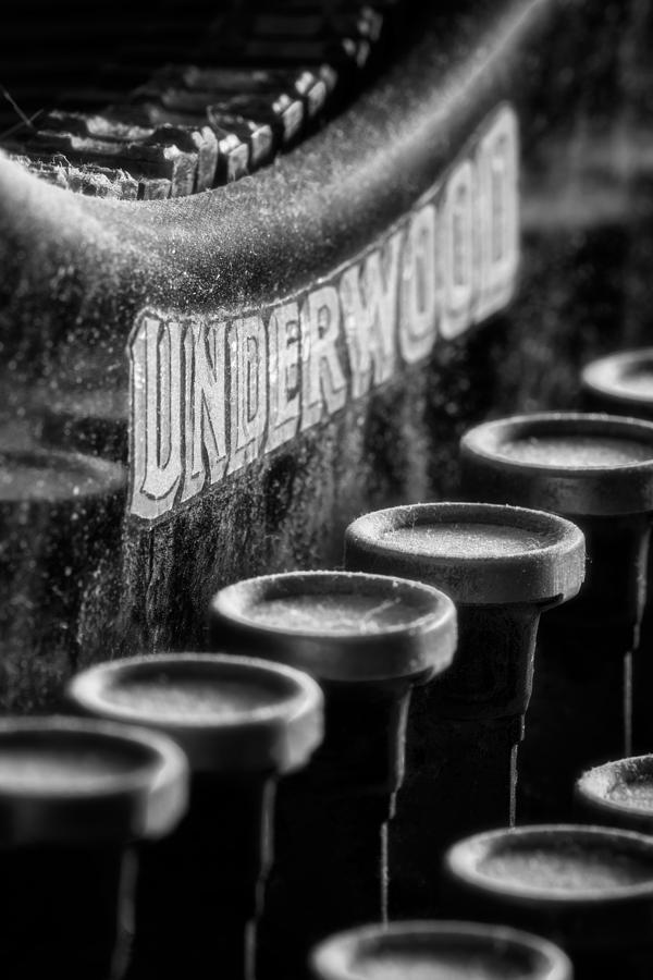 Underwood Standard Typewriter by Matt Hammerstein