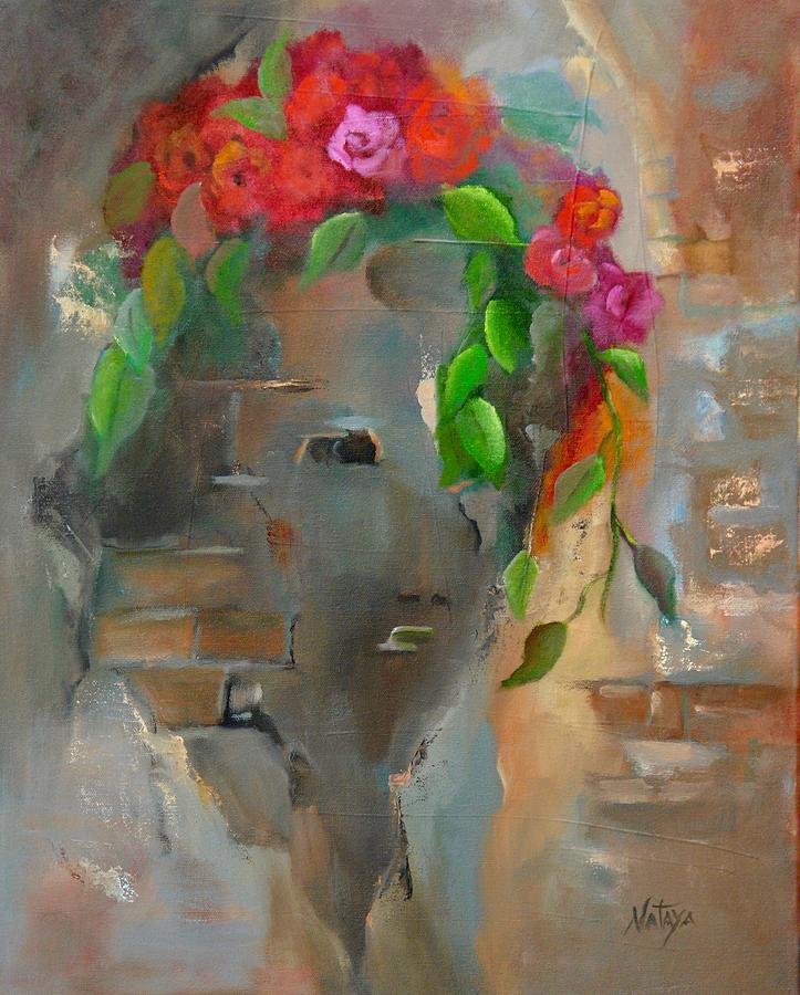 Feminine Painting - Undying Feminine by Nataya Crow