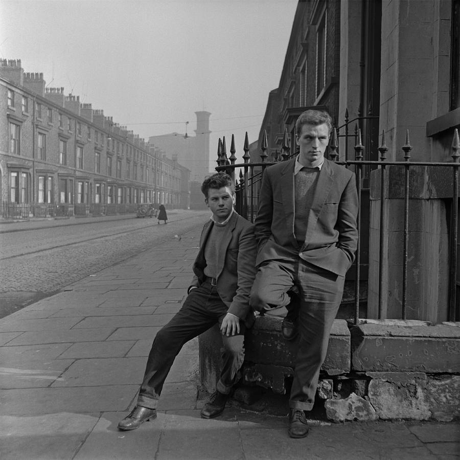 Unemployed In Liverpool Photograph by Bert Hardy