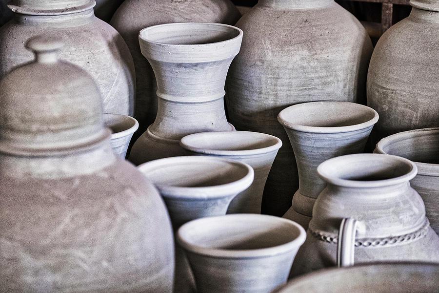 Unfinished Pottery - Morocco by Stuart Litoff