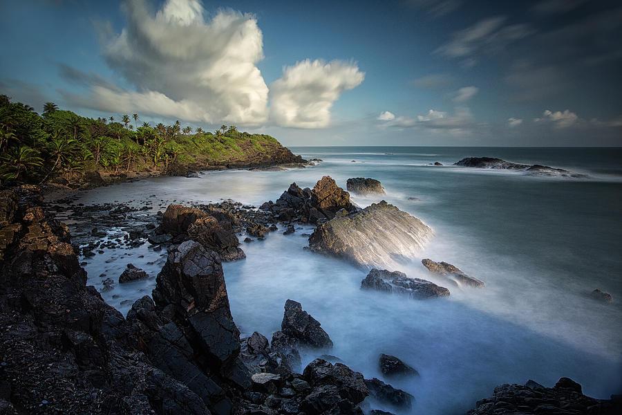 Unforgiving Atlantic Photograph by Timothy Corbin