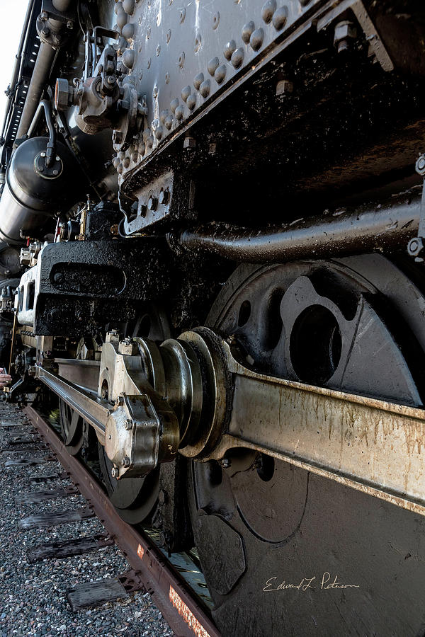 Union Pacific Big Boy 4014 Massive by Edward Peterson