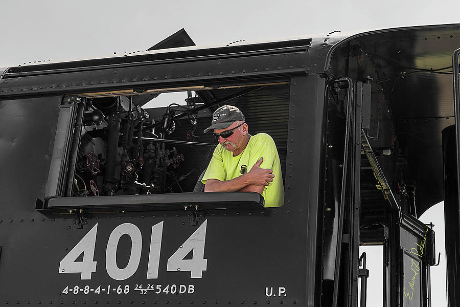 Union Pacific Big Boy 4014 Touchscreen by Edward Peterson