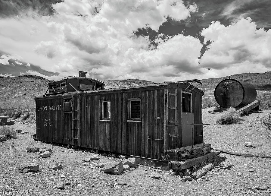 Union Pacific Caboose by Mike Ronnebeck