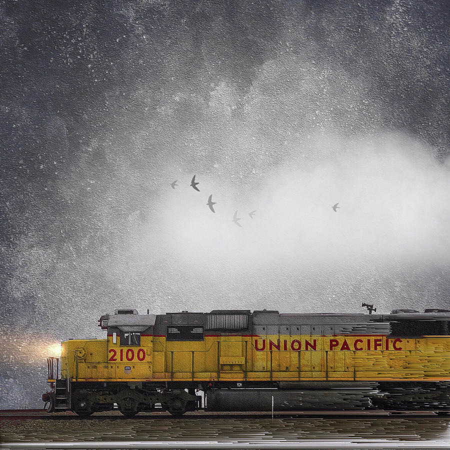 Union Pacific by Caroline Jensen