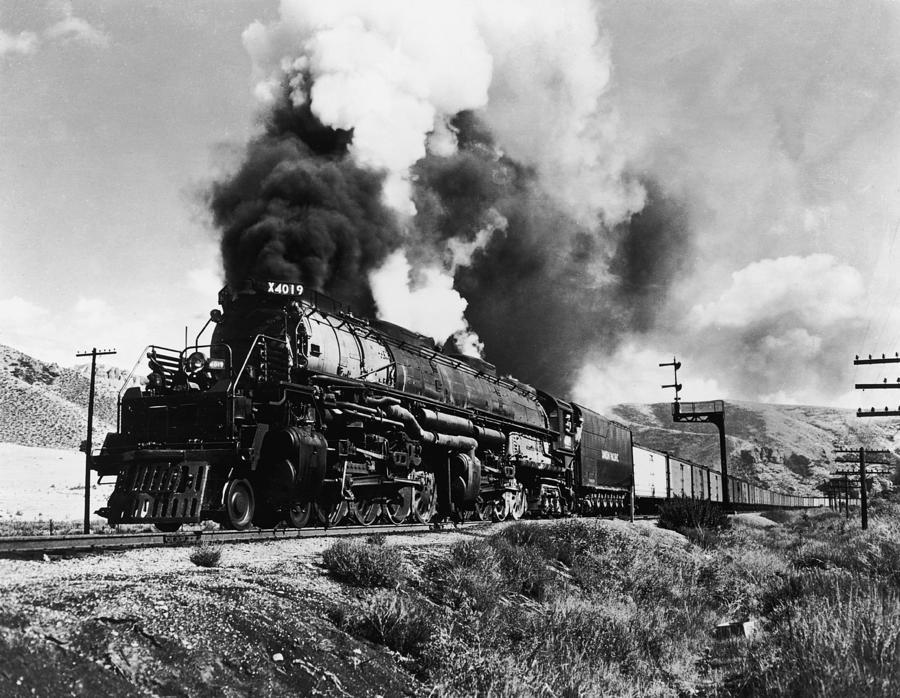 Union Pacific Train Photograph by Gabriel Hackett