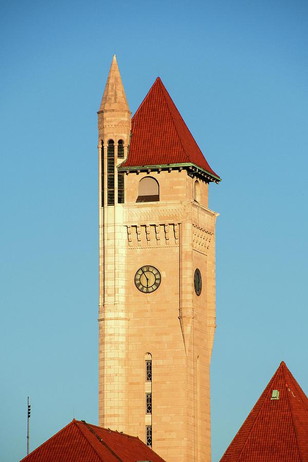 Union Station Clock Tower by Steve Stuller