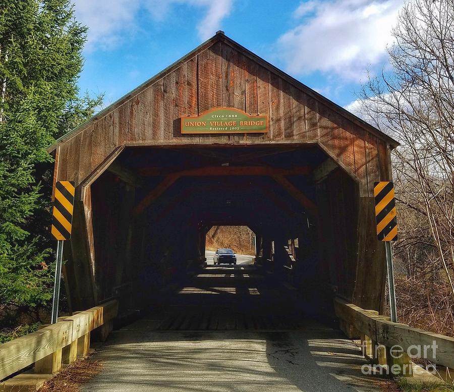 Union Village Bridge by Mary Capriole
