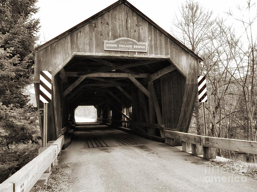 Union Village Covered Bridge by Mary Capriole