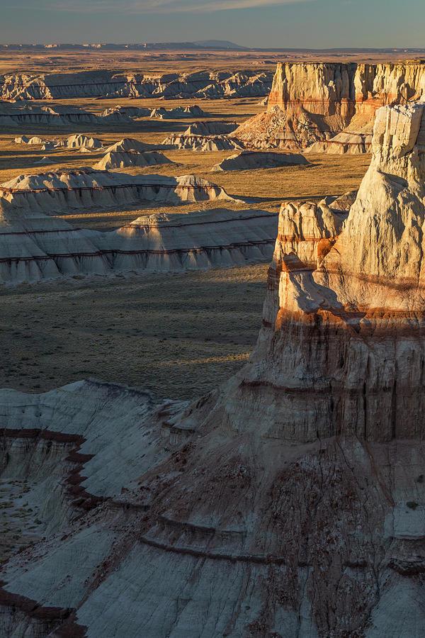 Adam Jones Photograph - Unique Formations Of Coal Mine Canyon by Adam Jones