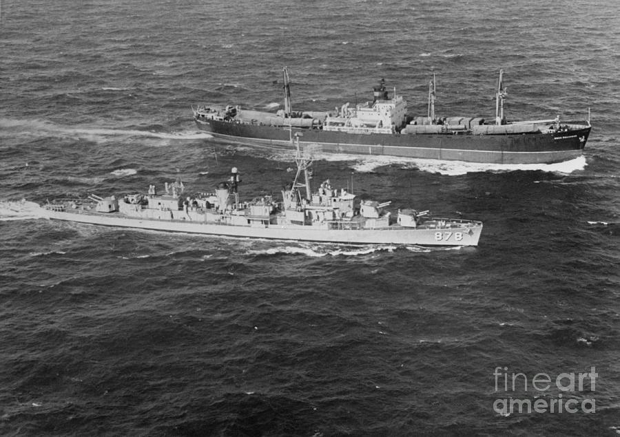 United States Destroyer Intercepting Photograph by Bettmann