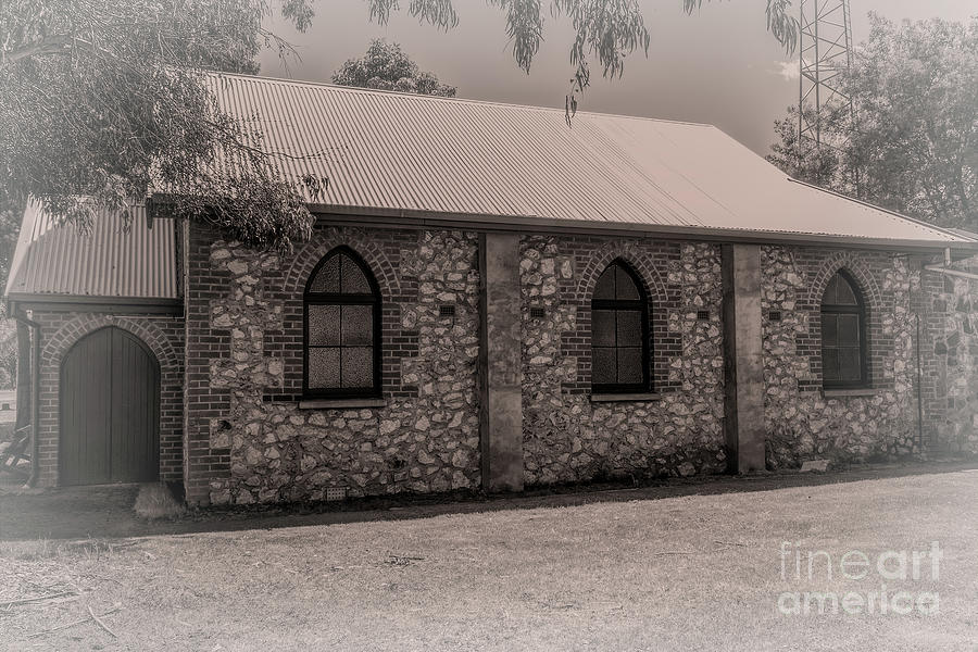 Uniting Church, Nannup, Western Australia by Elaine Teague