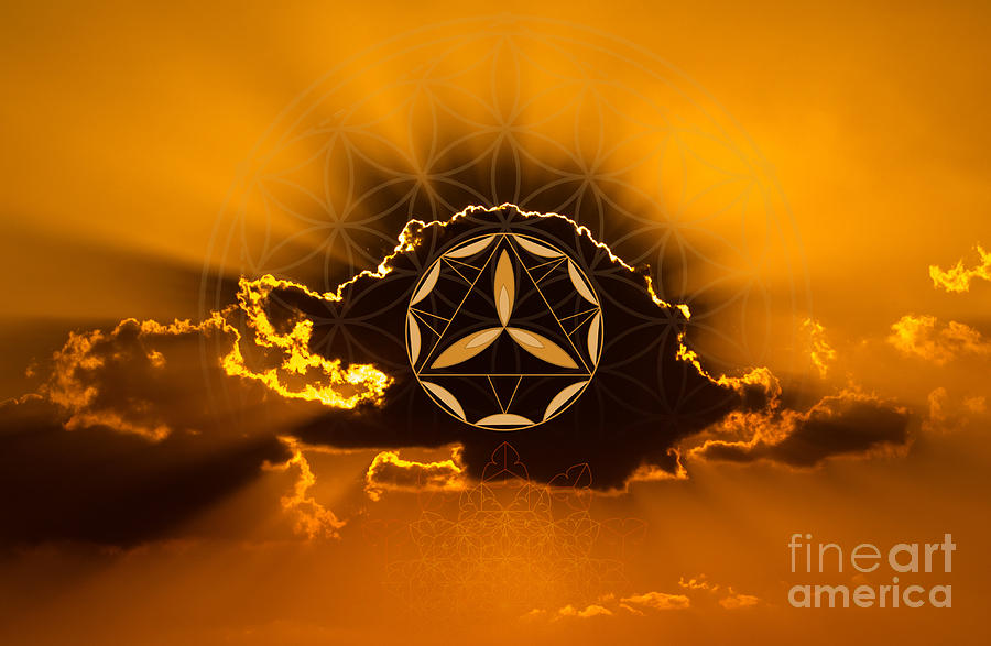 Unity Sacred Geometry by Nathalie DAOUT