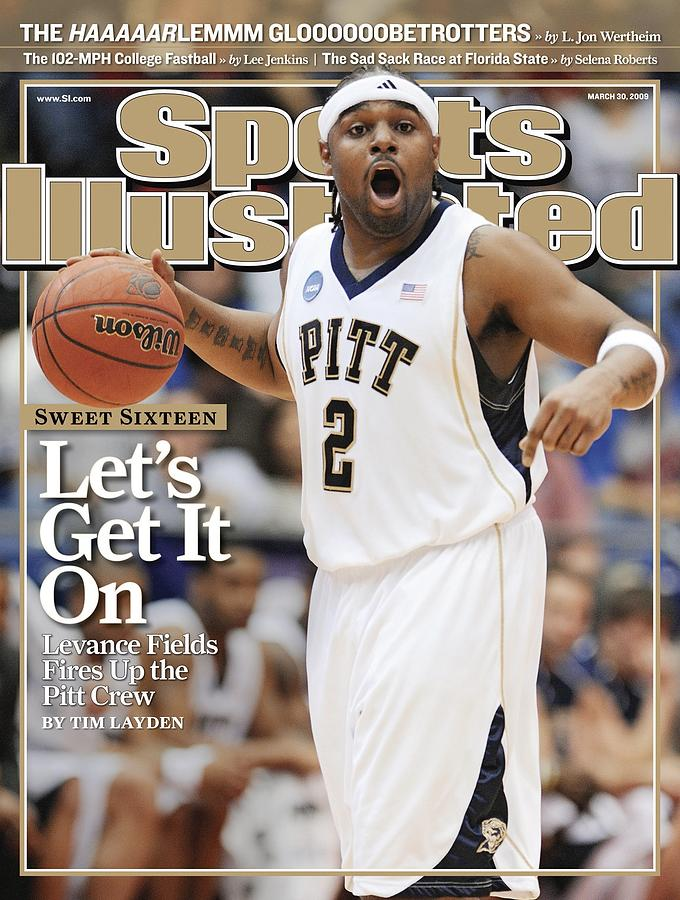 Univerity Of Pittsburgh Levance Fields, 2009 Ncaa East Sports Illustrated Cover Photograph by Sports Illustrated
