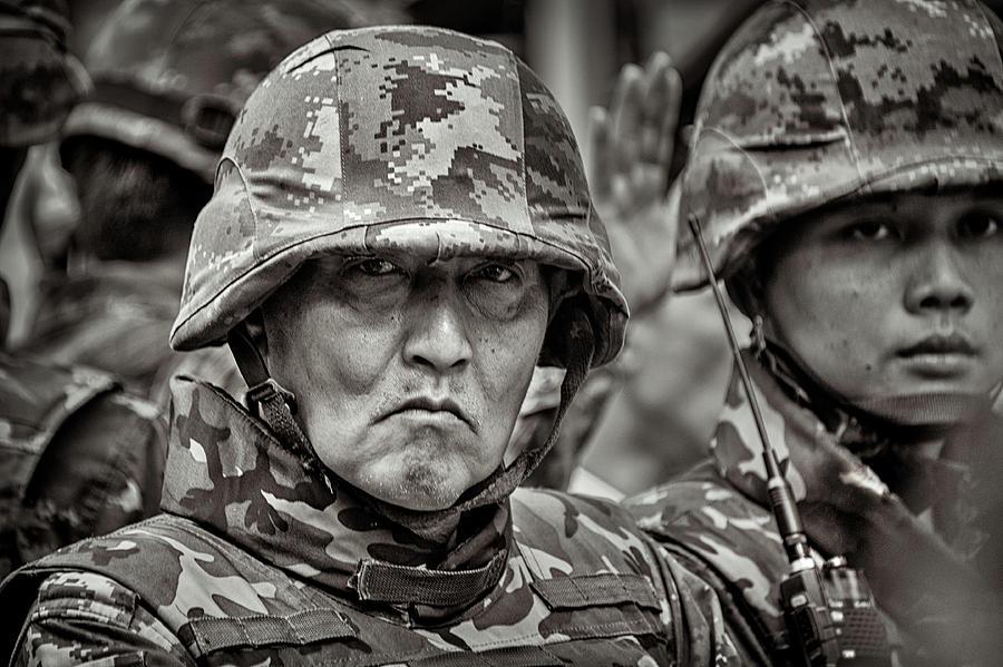Thai Soldier by Lee Craker