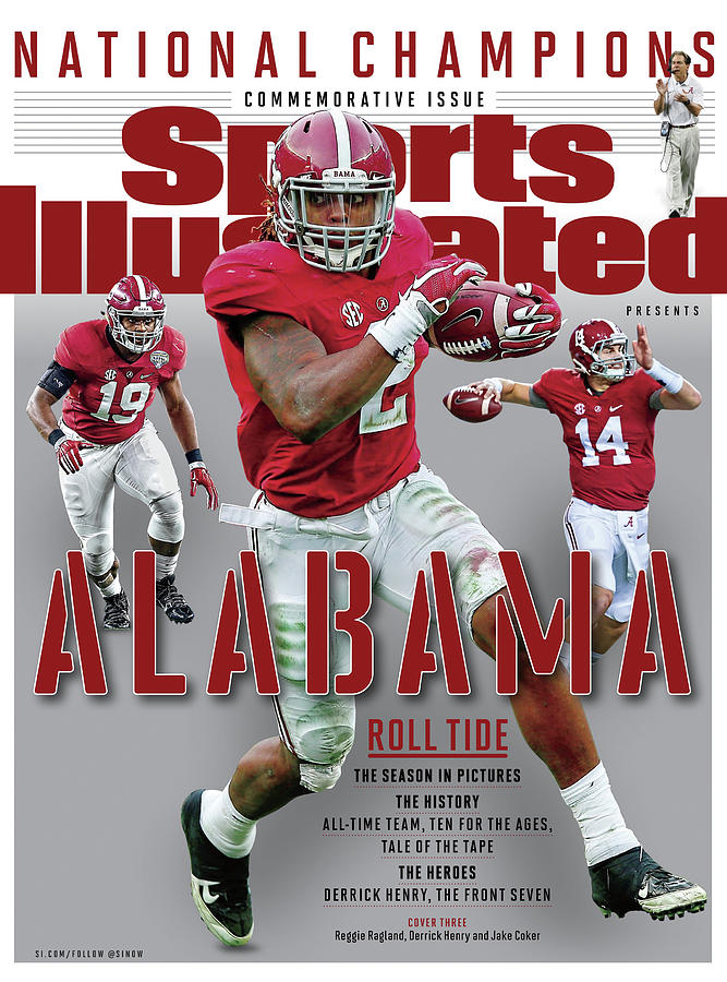 University Of Alabama 2015 Ncaa National Champions Sports Illustrated Cover Photograph by Sports Illustrated