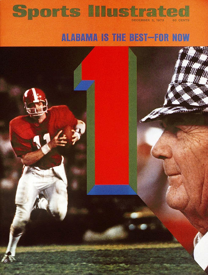 University Of Alabama Coach Paul Bear Bryant And Qb Gary Sports Illustrated Cover Photograph by Sports Illustrated