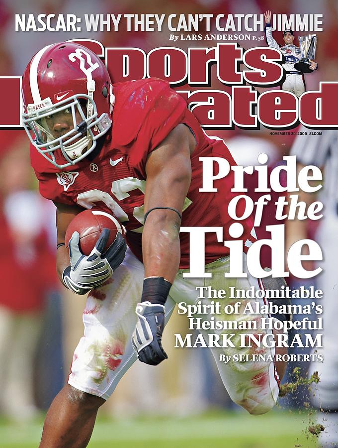 University Of Alabama Mark Ingram Sports Illustrated Cover Photograph by Sports Illustrated