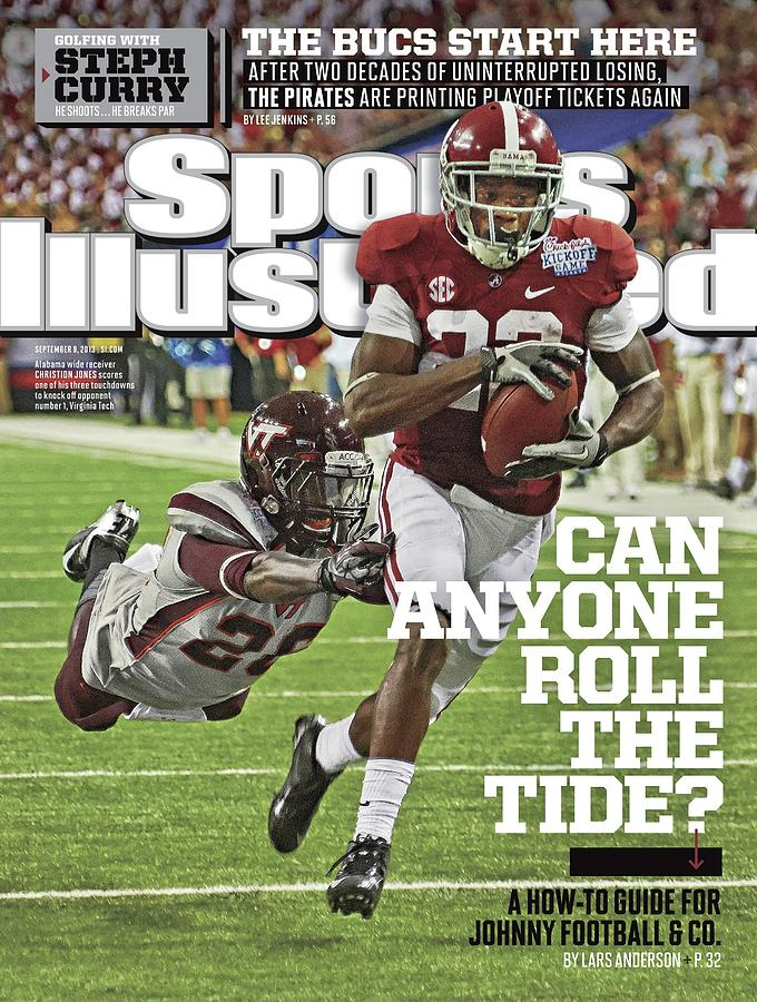 University Of Alabama Vs Virginia Tech, 2013 Chick-fil-a Sports Illustrated Cover Photograph by Sports Illustrated