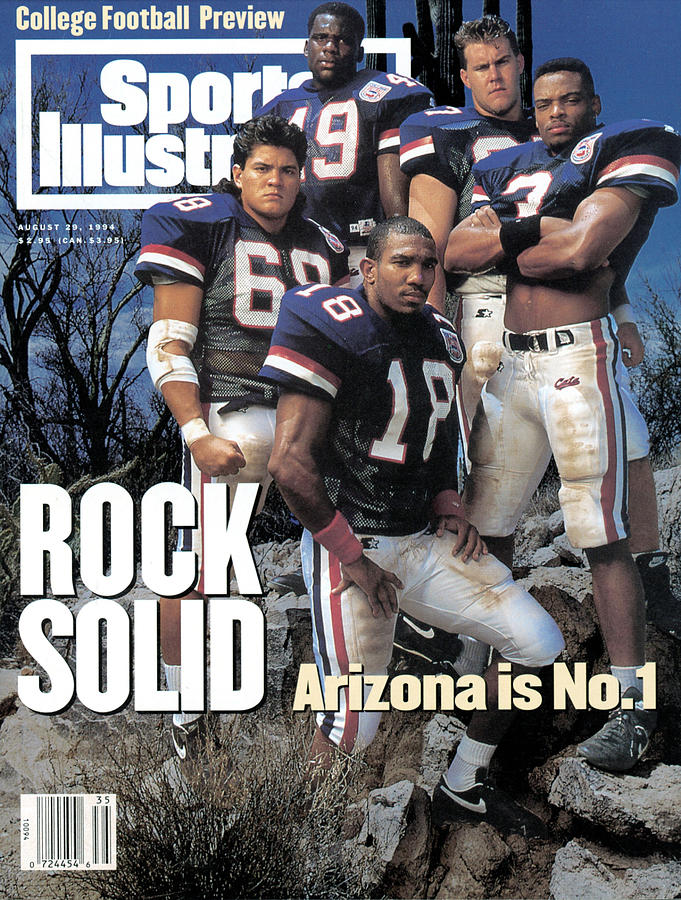University Of Arizona, 1994 College Football Preview Issue Sports Illustrated Cover Photograph by Sports Illustrated